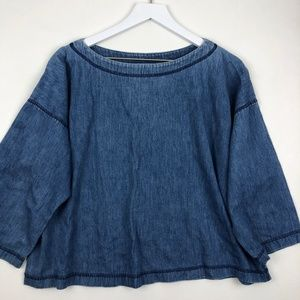 VTG Gene Ewing BIS Denim Top